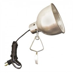 TPI - CL300 - TPI CL300 300w 120v Incandescent Comm Duty Portable Utility Lt, Clip-on