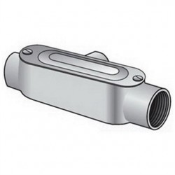 Emerson - T-75CG - OZ Gedney T-75CG Conduit Body With Cover/Gasket, Type: T, Size: 3/4, PVC