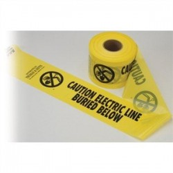 Thomas & Betts - YT3 - Blackburn YT3 3-INX1000FT WARNING TAPE
