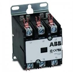 ABB - DP40C3P-1 - ABB DP40C3P-1 Contactor, 40A, 3P, Definite Purpose, 600VAC, 120VAC Coil