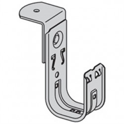 Eaton Electrical - BCH12-RB - Silver J-Hook, Threaded Rod Mounting Location, 30 lb. Max. Load Capacity