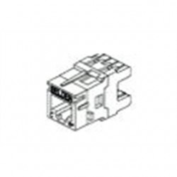 Belden / CDT - AX101068 - Belden AX101068 Modular Jack Plug, RJ45, MDVO Style, Red, Cat 6+