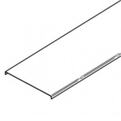 Eaton Electrical - 807A40-24-120 - Cooper B-Line 807A40-24-120 Cable Tray Cover, Series 2, 3 & 4, 24 Wide, 10' Long, Aluminum