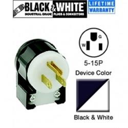 Leviton - 5266-CA - Leviton 5266-CA Power Plug - NEMA 5-15P - 125 V AC / 15 A