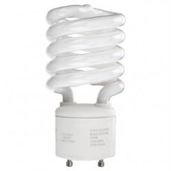 Osram - CF23EL/GU24/827/BL - SYLVANIA CF23EL/GU24/827/BL Compact Fluorescent Lamp, Mini-Twister, 23W, 2700K