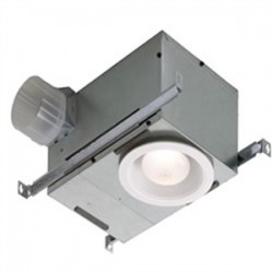 Broan-NuTone - 744FLNT - Nutone 744FLNT 70 CFM Ceiling Fan/Light, Fluorescent