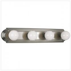 Progress Lighting - P3025-09 - Progress Lighting P3025-09 Bath Fixture, 4 Light, 60W
