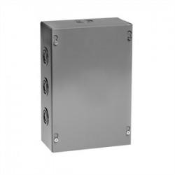 Unity - 10104SC - Unity 10104SC Pull Box, NEMA 1, Screw Cover, 10 x 10 x 4, Gray, KOs