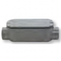 BizLine - 400C - Bizline 400C Conduit Body, Type C, Size: 4, Includes Cover/Gasket, PVC