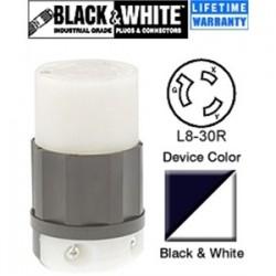 Leviton - 2643 - Leviton 2643 30 Amp, 480 Volt, NEMA L8-30R Connector