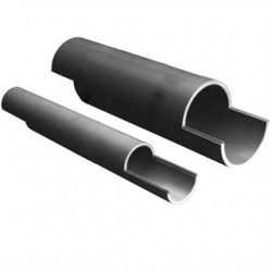 Thomas & Betts - 49015SD-010 - Carlon 49015SD-010 Split Duct PVC Conduit, 4, 10', Schedule 40