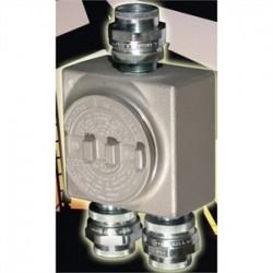 Appleton Electric - GRUSE50 - Appleton GRUSE50 Conduit Outlet Box, Type GRUSE, (3) 1/2 Hubs, Malleable
