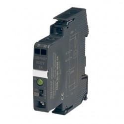 E-T-A Circuit Breakers - ESX10-TB-101-DC24V-2A - E-T-A Circuit Breakers ESX10-TB-101-DC24V-2A Electronic Breaker, Din Rail Mount, 2A, 24VDC, Signal Contact