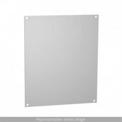Hammond Manufacturing - 14R1311 - Panel, Inner, Steel, White, PJ Series Enclosure, 324 mm, 276 mm