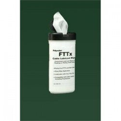 Polywater - FTTX-D20 - American Polywater FTTX-D20 20-ct Wipe Canister Polywater Lube Fttx