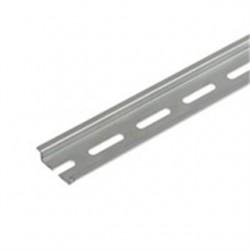 Weidmuller - 514400000 - Weidmuller 514400000 Mounting Rail, 33mm x 15mm x 2m, Gray, Steel, Zinc Plated