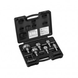 Klein Tools - 31873 - Klein 31873 8-piece Master Electrician's Hole Cutter Kit