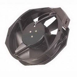 Pentair - 101091124SP - Hoffman 101091124SP Compact Axial Fan, 12x 12 x 10, 230 Volt, Non-Metallic/Black