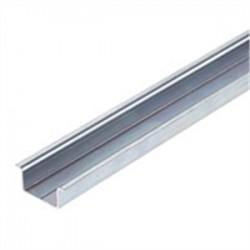 Weidmuller - 236400000 - Weidmuller 236400000 Mounting Rail, 35mm x 15mm x 2m, Steel, Zinc Plated