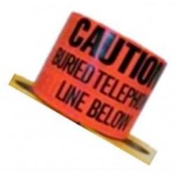 3M - 367 - 3M 367 3 x 1000' Orange Caution Buried Telephone Line Below Buried Barricade Tape
