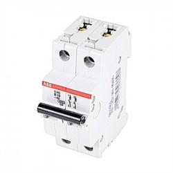 ABB - S202-B10 - ABB S202-B10 Circuit Breaker, Miniature, DIN Rail Mount, 10A, 2P, 480Y/277VAC