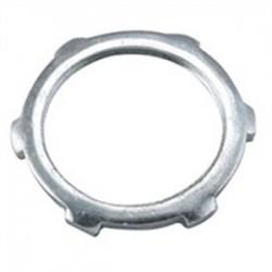 Hubbell - 1200 - Hubbell-Raco 1200 Conduit Locknut, Steel, 3-1/2, Non-UL