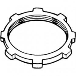 Hubbell - 1197 - Hubbell-Raco 1197 Conduit Locknut, 2-1/2, Steel