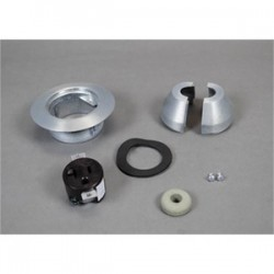 Wiremold / Legrand - 1223AL - Wiremold 1223AL Service Fitting, 3-1/2 Inch 20A, Material: Aluminum