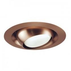 Acuity Brands Lighting - 229-ABZ - Juno Lighting 229-ABZ Adjustable Eyeball Trim, 6, PAR30L/BR30, Classic Aged Bronze