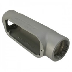 Mulberry Metal - 11832 - Mulberry Metal 11832 3/4, Type C, Aluminum Conduit Body