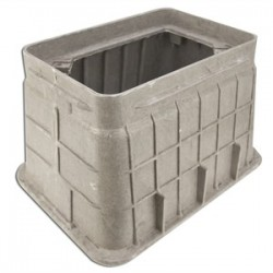 Oldcastle Precast - 02011000 - Oldcastle Precast 02011000 Underground Rectangular Box, 10 x 15 x 12, Material: Composite