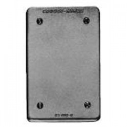 Eaton Electrical - DS100G - Cooper Crouse-Hinds DS100G Blank Cover, 1-Gang, Cast Aluminum