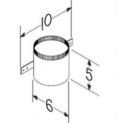 Broan-NuTone - CVL6 - Broan CVL6 Wall Mount for Grill, Duct