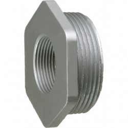 Arlington Industries - 1275 - Arlington 1275 Reducer Bushing, Size: 2-1/2 x 1-1/2, Zinc Die Cast