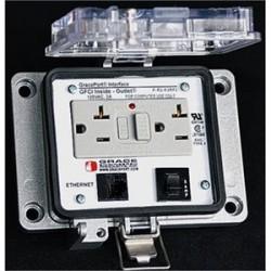 Grace Engineered - P-R13-K3RF3 - Grace Engineered Products P-R13-K3RF3 Programming Port, 10', GFCI 3A Circuit Breaker, Nema 12/4