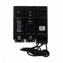 Eaton Electrical - BR215ST - Eaton BR215ST Breaker, 15A, 2P, 120/240V, Type BR, 10 kAIC, Shunt Trip