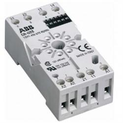 ABB - 1SVR405670R0000 - ABB Entrelec 1SVR 405 670 R0000 Relay, Socket, Octal, 8 Pin, CR-U Series