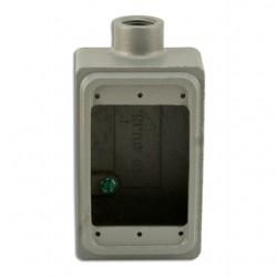 Appleton Electric - FS-1-50A - Appleton FS-1-50A FS Device Box, 1-Gang, Feed-Thru, Type FS, 1/2, Aluminum