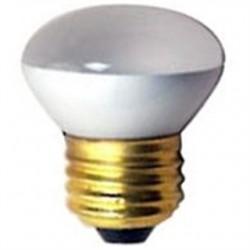 Halco - 25R14 FL MED 130V - Halco 25R14 FL MED 130V Incandescent Bulb, Dimmable, R14, 25W, 130V, Frosted