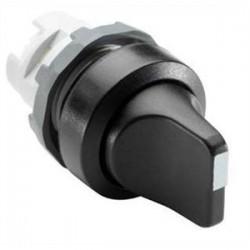 ABB - M3SS1-10B - ABB M3SS1-10B 22mm Selector Switch, Knob Type, Black, Modular