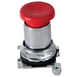 Eaton Electrical - 10250ED1043-4 - Eaton 10250ED1043-4 Latch-In, Twist-To Release Operator, Red Mushroom Button
