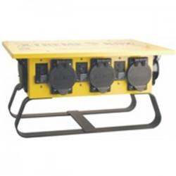 Coleman Cable - 01960-3R-02 - Coleman Cable 01960-3R-02 Power Distribution Box - Twist Lock Outlets