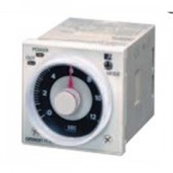 Omron - H3CR-A AC100-240/DC100-125 - Analog Timer, Multifunction, H3CR-A Series, On-Delay, 8 Ranges, 0.05 s, 300 h, 1 Changeover Relay