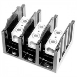 Cooper Bussmann - 16000-4 - Eaton/Bussmann Series 16000-4 Splicer Terminal Block, 4-Pole, Line/Load: 8 to 2/0 AWG Cu/Al, 600V