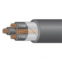 Service Wire - TCXH4/3G - Service Wire TCXH4/3G 4G 3C TRAY CABLE