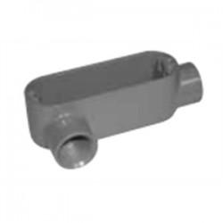 Topaz Lighting - LB3 - Topaz LB3 Conduit Body, Type: LB, Size: 1, Aluminum