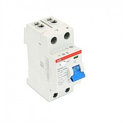 ABB - F202AC-40/0.03 - Thermal Magnetic Circuit Breaker, Residual Current, F200 Series, 277 VAC, 40 A, 2 Pole, DIN Rail