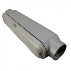 Appleton Electric - BC300-A - Appleton BC300-A Conduit Body With Cover/Gasket, Type: C Mogul, Size: 3, Aluminum