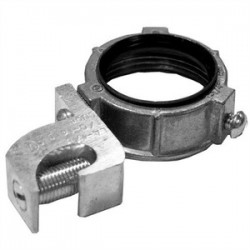 Appleton Electric - GBL-1000 - Appleton GBL-1000 Grounding Bushing, 4, Threaded, Insulated, Zinc