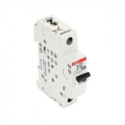 ABB - S201-D2 - ABB S201-D2 Circuit Breaker, Miniature, DIN Rail Mount, 2A, 1P, 230VAC